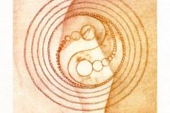Deianira, Arcano VI, calcografia