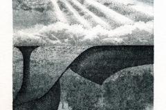 Deianira, Arcano XII, calcografia