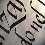 Deianira, calligrafia, cancelleresca, particolare