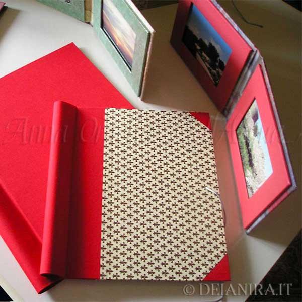 Deianira, Cartelle porta documenti realizzata a mano