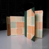 Deianira, Libro di ricette e cofanetto, realizzati a mano