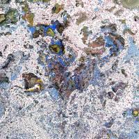 Le carte di Deianira, Carta marmorizzata realizzata a mano