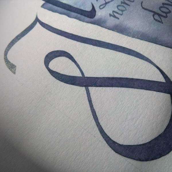 Lettera I-Deianira-scritto a mano-Calligrafia Cancelleresca