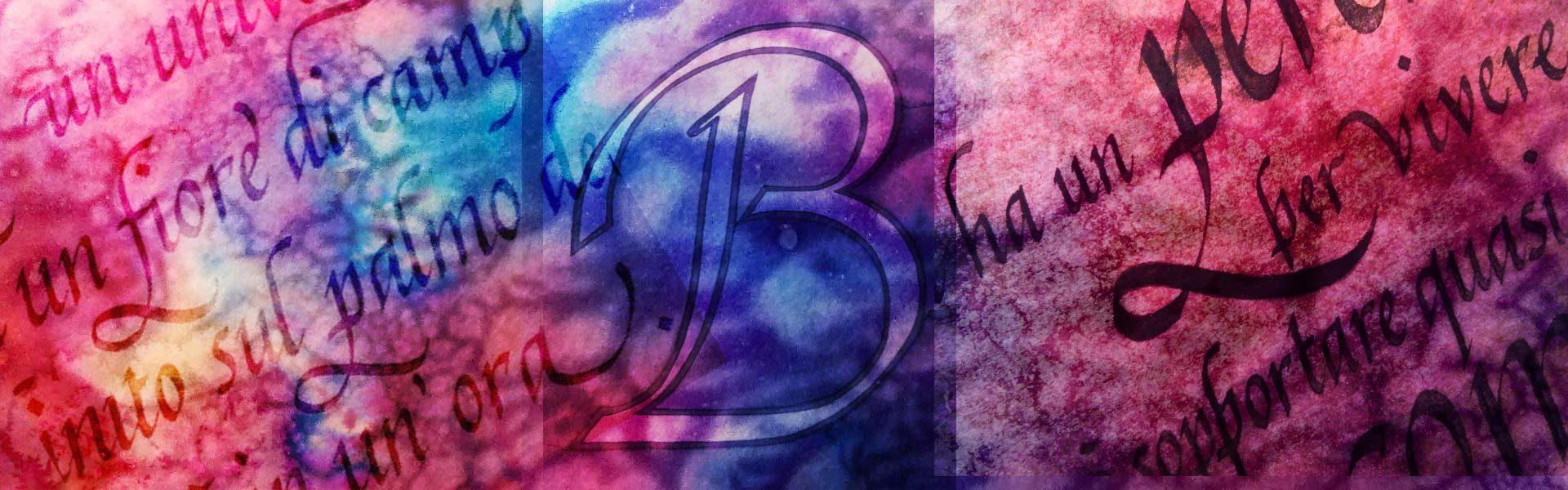 Deianira, calligrafia Cancelleresca