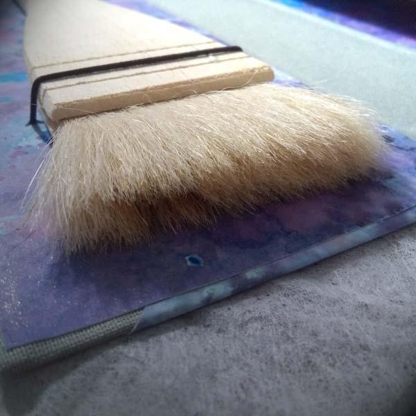 Porta pennelli realizzato a mano