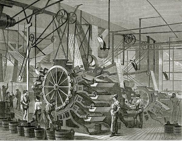Laboratorio di stampa 1867