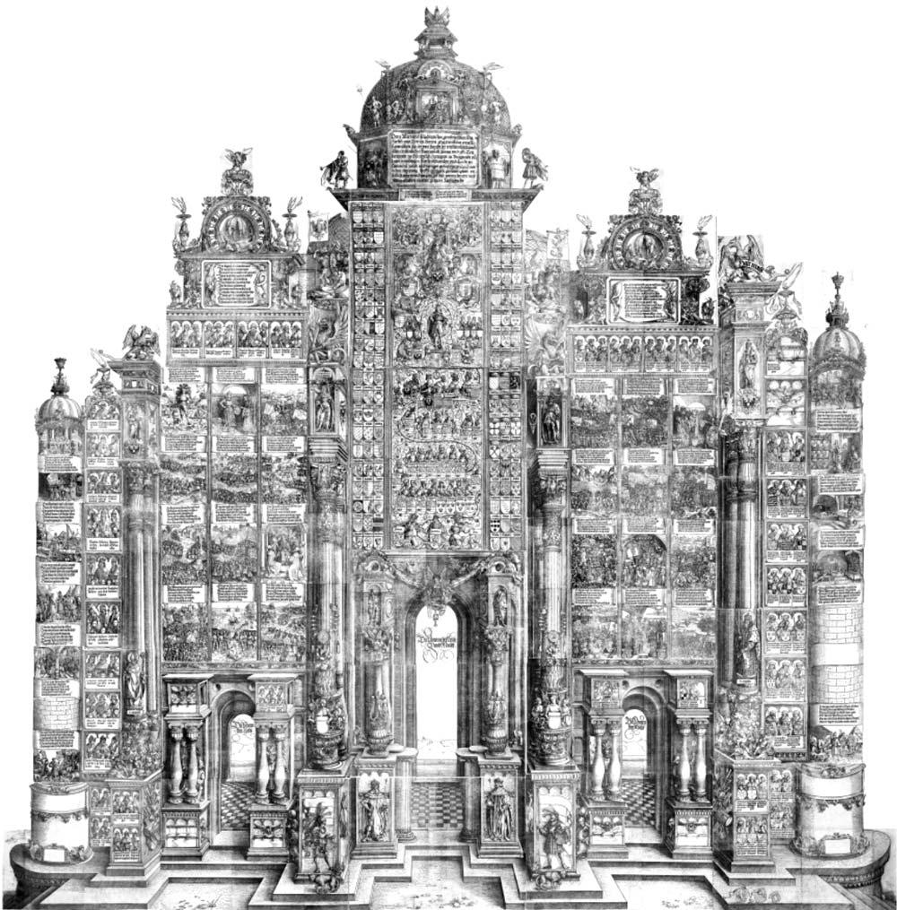 Porta d'Onore, xilografia di Albrecht Dürer