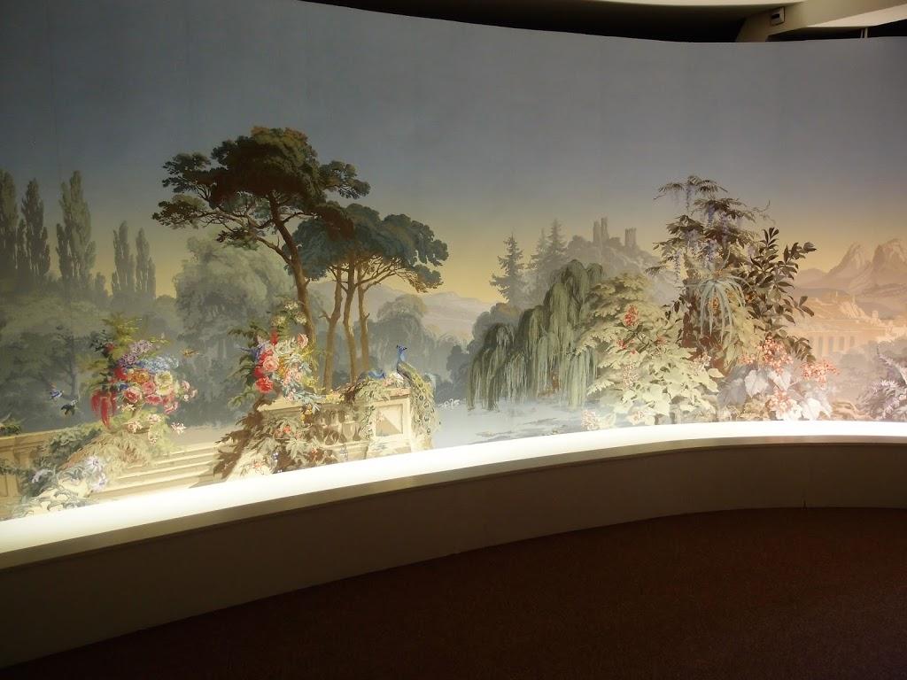 Papier peint, museo