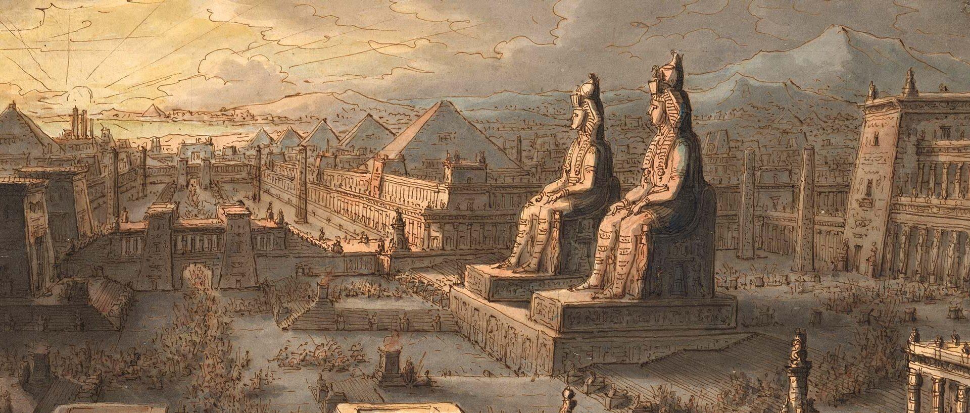 Il gran mnemonio d'Egitto, Antonio Basoli