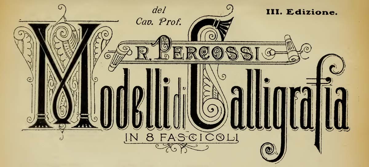 Modelli di Calligrafia, Percossi