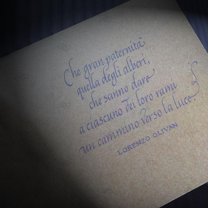 Calligrafia, scrittura Cancelleresca